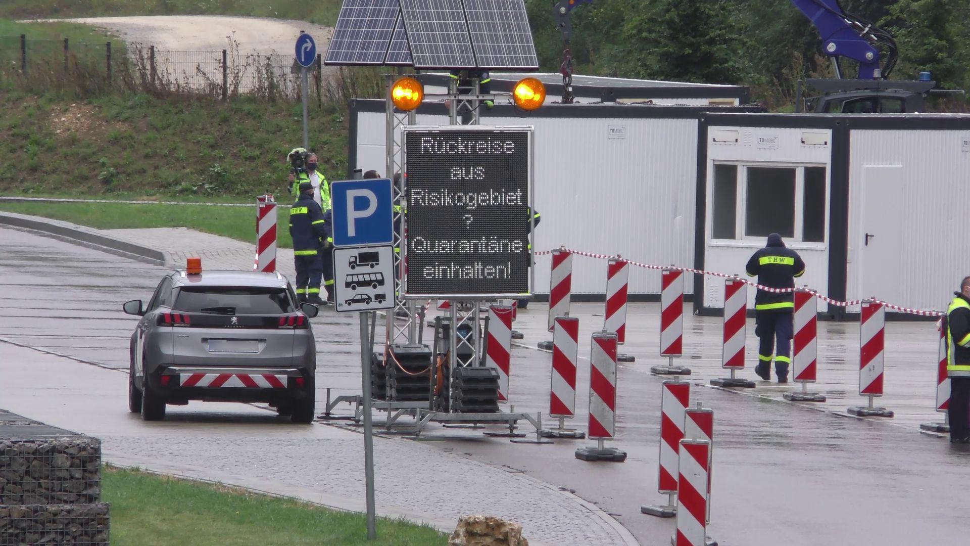 Teststation Autobahn