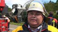 Joachim Rebholz, Einsatzleiter Feuerwehr Balingen