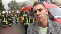 Björn Siemer, Ersthelfer, hat Frau aus Wohnung rausgeholt (3)