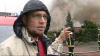 Sascha Ohmstede, entdeckte das Feuer (2)
