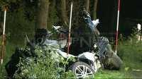 Drei Jugendliche sterben bei schwerem Verkehrsunfall auf Landstraße