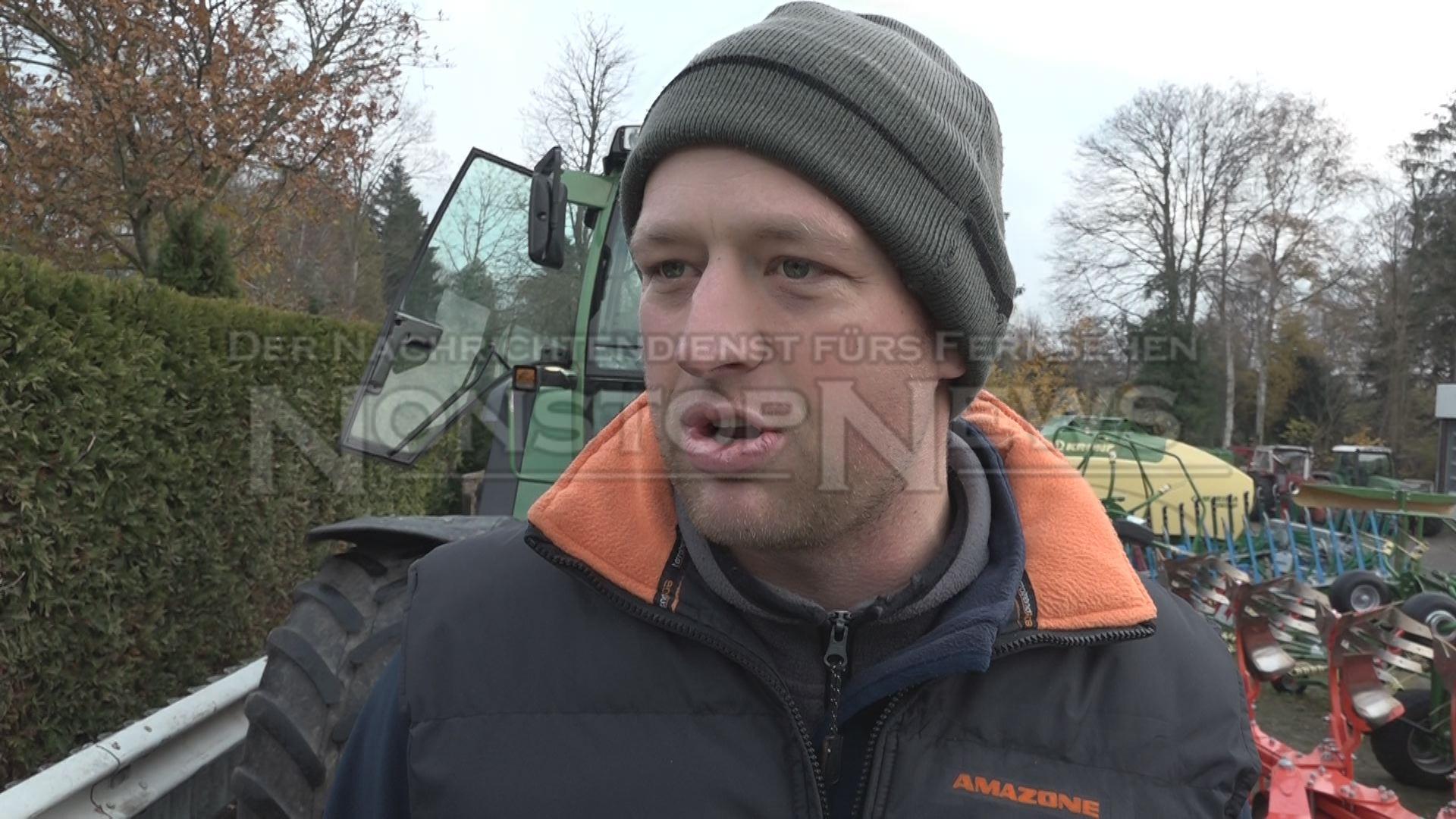 Landwirt Hajo Hillrichs